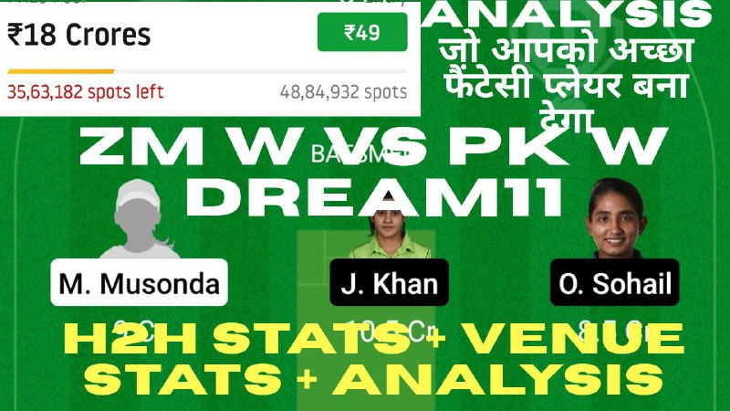 Picture 1 from CricInformer (Tips and Teams of Dream11) 2021-02-09 08:19:54